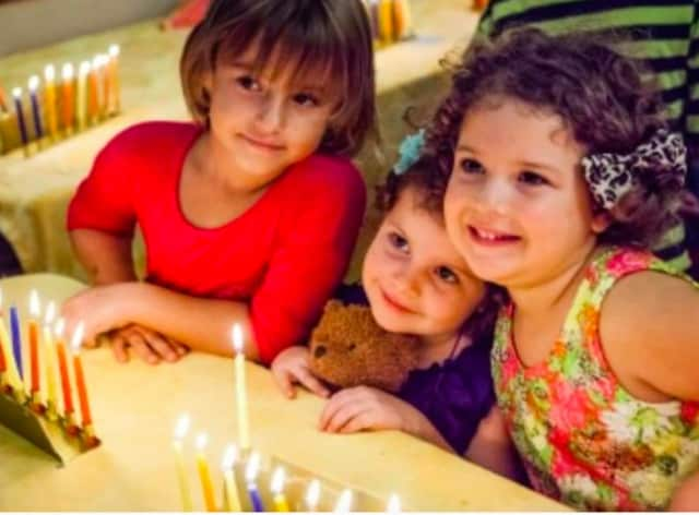 Greenwich's Jewish Day School students, Chabad of Greenwich's Hebrew School students and children from Chabad of Greenwich's Gan Preschool will perform at the outdoor Menorah Lighting on Dec. 6, at 4 p.m.