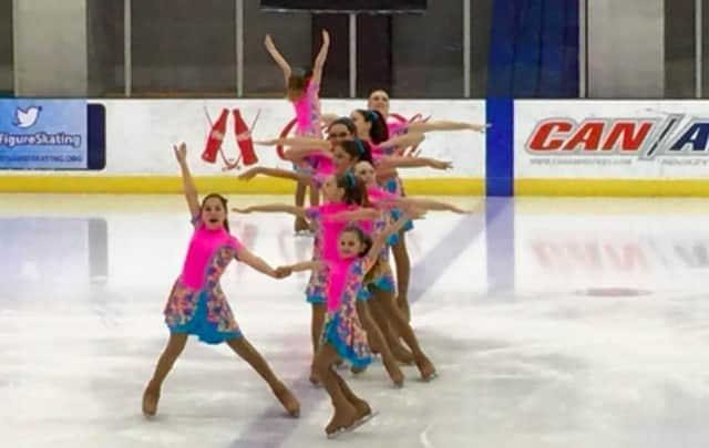 Synchronized skating returns to the Terry Conners Rink in Stamford this weekend.