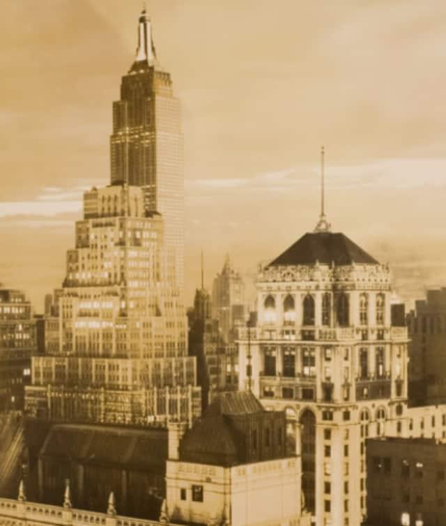 Paul J. Woolf (1899-1985) View of Manhattan, c. 1932 Gelatin silver print, 7 3/4 x 5 5/8 in. Gift of Dr. Stephen Nicholas