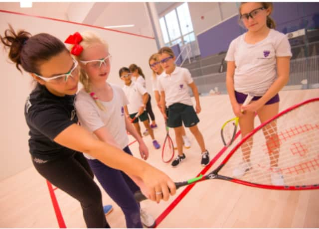 Convent of the Sacred Heart in Greenwich is conducting a sports celebrations for girls on Saturday.
