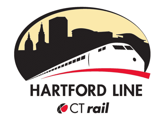 The new logo for the Hartford Line, which will expand rail service from New Haven to Hartford to Springfield, Mass.