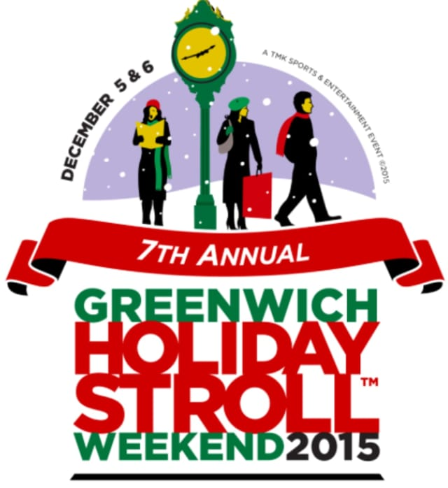 The 7th Annual Holiday Stroll Weekend takes place in downtown Greenwich.