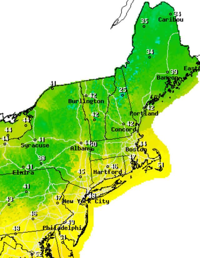 Passaic County will enjoy unseasonably warm temperatures starting on Wednesday.