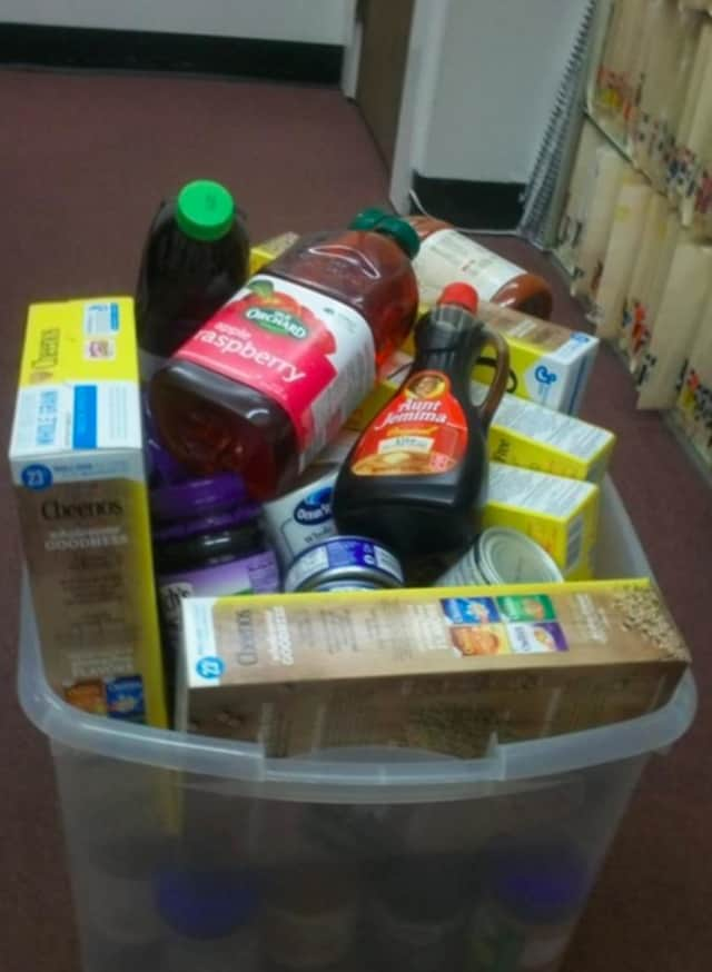 William Pitt Sotheby's International Realty's Southport brokerage is collecting food this holiday season for Fairfield-based Operation Hope.