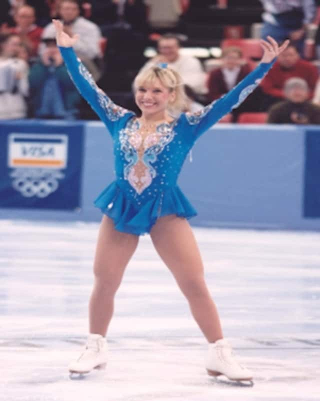 U.S. Olympic skater Elaine Zayak will be at the Lodi Library on Saturday in conjunction with a Teen, Tots and Toys holiday event.