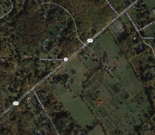 Two people have been hospitalized due to a head-on car collision on Route 121 in Bedford, police said.