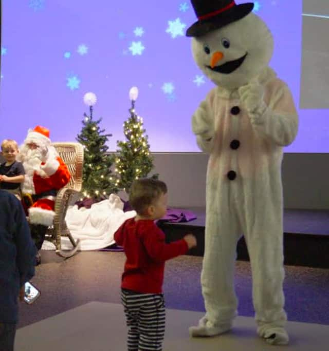 Santa will light a tree tonight among Holiday Happenings at Stepping Stones Children's Museum in Norwalk.
