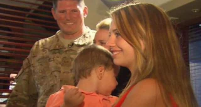 Staff Sgt. Joseph Lemm of West Harrison with his wife, son and stepdaughter. The Air National Guardsman and NYPD detective was killed Monday by a suicide bomber in Afghanistan. His unit was based at Stewart Air Base in Newburgh.