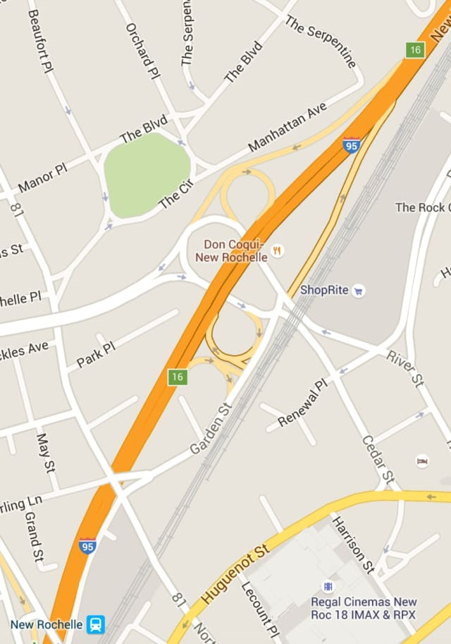 The accident occurred on northbound I-95 at North Avenue/Cedar Street (Exit 16),