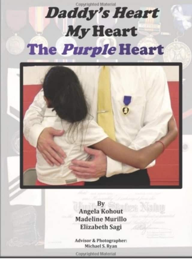 Three sixth-grade students from Cliffside Park penned a book about the impact of PDST on veterans and their families.
