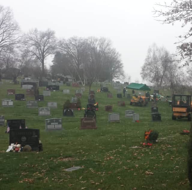 The body of an Eastchester police sergeant was found in the Gate of Heaven cemetery.