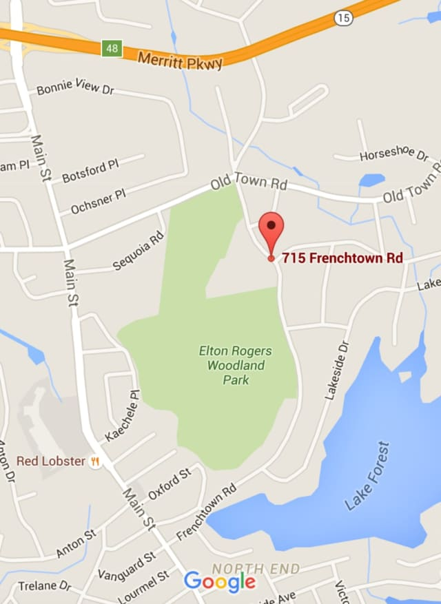 The fire occurred at the Greentree Condo Complex on Frenchtown Road in Bridgeport.
