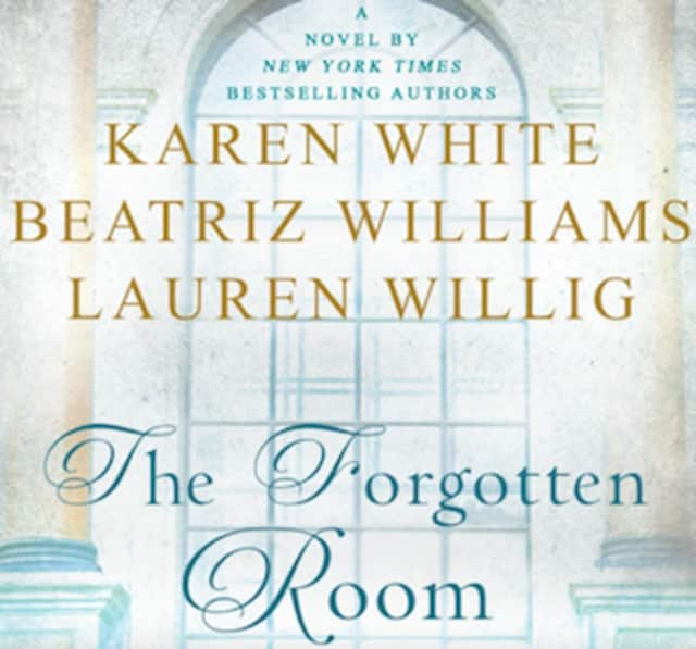 Authorslive@GreenwichLibrary presents Three's a Charm, a panel with authors Karen White, Beatriz Williams and Lauren Willig Jan. 21 at the library.