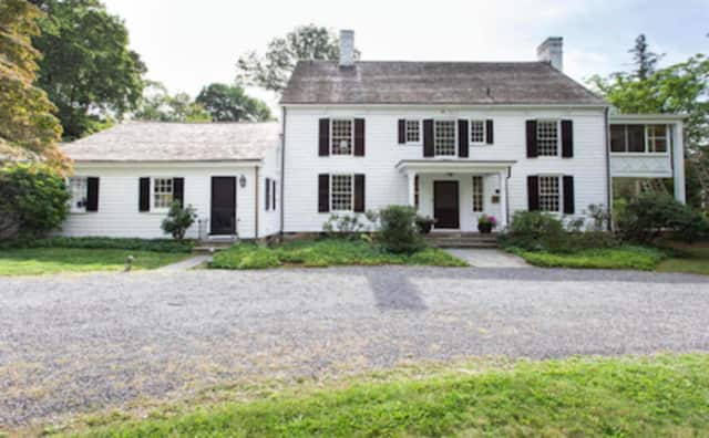 Historic Greenwich Home on Grove Lane originally built in 1798.