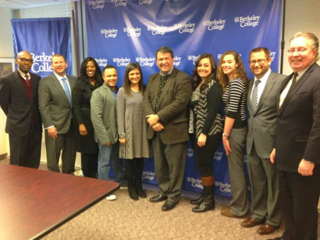 State Senator George Latimer visited Berkeley College in White Plains on Tuesday, January 5, 2016.