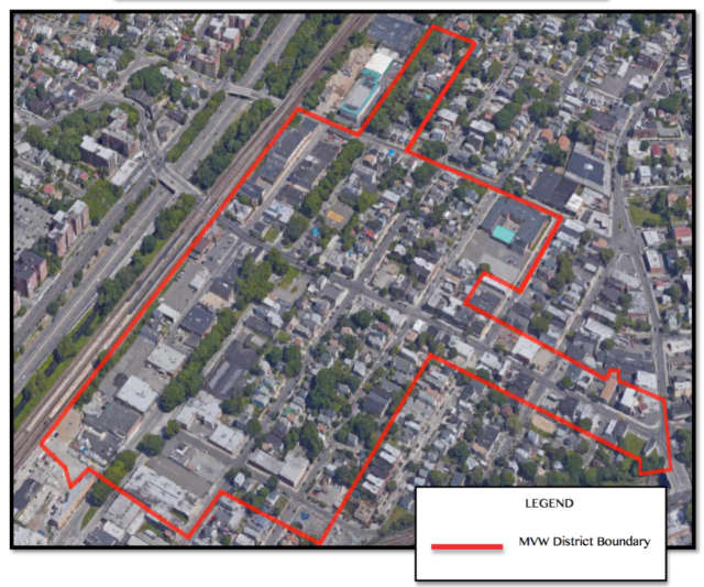 The proposal would see a complete overhaul to Mount Vernon West, near the Metro-North station.