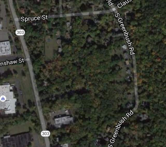 The closure is between Spruce Street and Route 303.