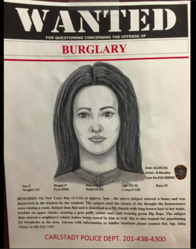 This sketch of the suspect has been released by police.