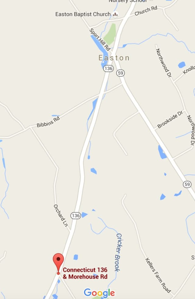 Route 136 in Easton from Morehouse Road up to Bibbins Road will be closed until Thursday morning.