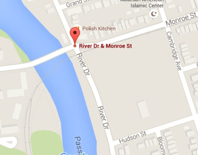 River Road in Garfield was closed Thursday morning.