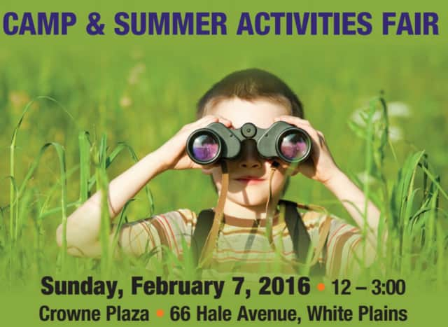 Crowne Plaza in White Plains will host the 34th Annual Camp & Summer Activities Fair on Sunday, Feb. 7.