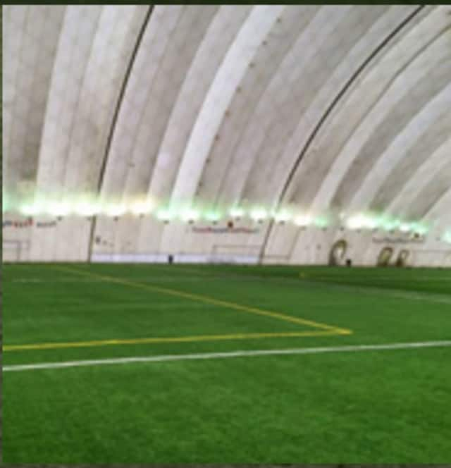 The Sports Underdome's inflatable roof collapsed in the Jan. 23 blizzard.