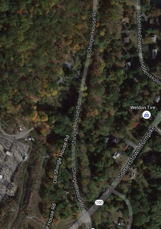 Shingle House Road in New Castle will be closed for approximately two hours due to a truck rollover.