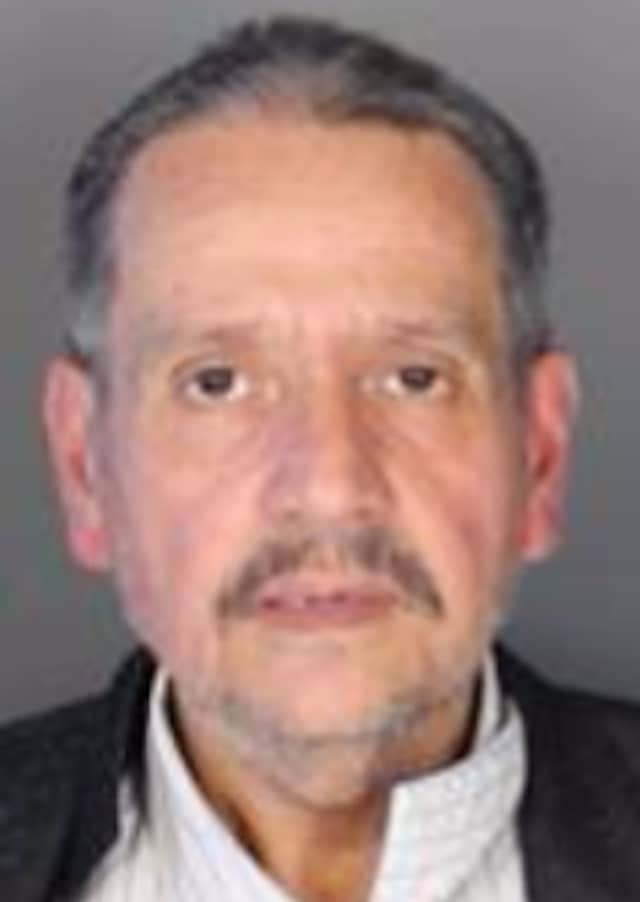 Raul L. Coballes, 52, of the Bronx was arrested in Rye on Wednesday while trying to withdraw money from someone else's bank account.