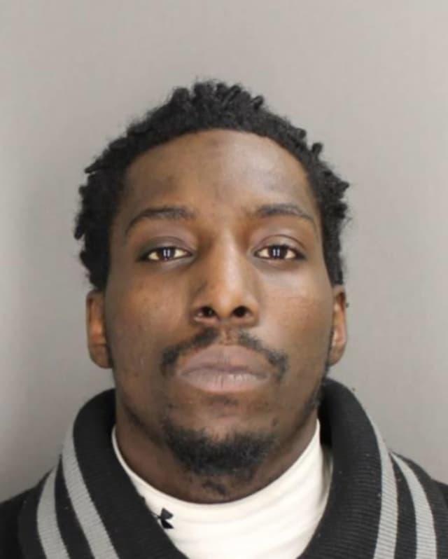 Bronxville police arrested Aaron Wellington, 25, in Harlem on Wednesday.