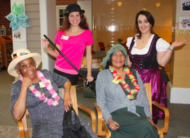 Waveny LifeCare Network's adult day program participants recently spent a day celebrating Broadway.