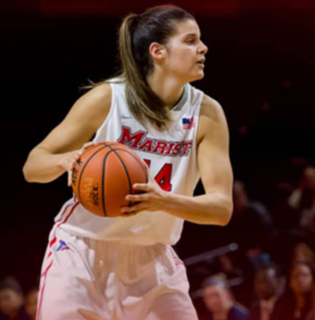 Marist College student Tori Jarosz of Cortlandt Manor has been named the Metro Atlantic Athletic Conference Player of the Week for the sixth time in her career and the fourth time this season.