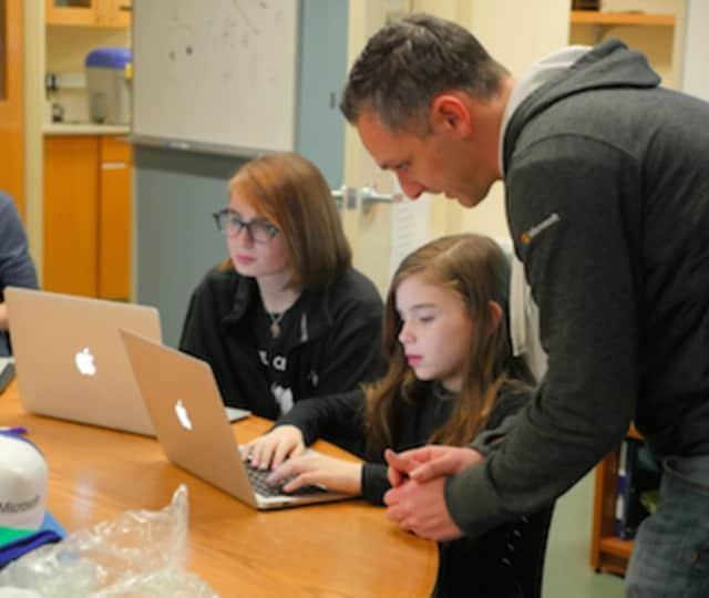 St. Luke's School held a Hackathon recently.