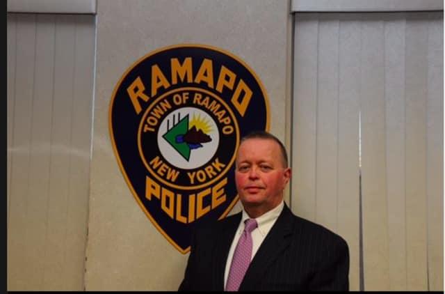 New Ramapo Police Chief Brad Weidel