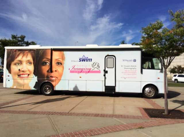 St. Vincent's Mobile Mammography Van