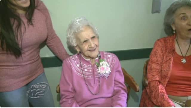 Corinne Semiara of West Haverstraw celebrated her 102nd birthday on Thursday with a dinner at Sparky's Diner.