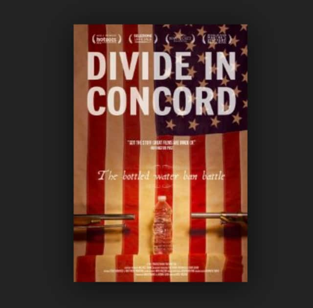 """The New Canaan Library is showing """"Divide in Concord,"""" a feature-length documentary that follows the tale of banning bottled water in small-town America."""