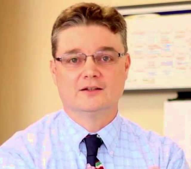 Superintendent of Schools Tom McMorran
