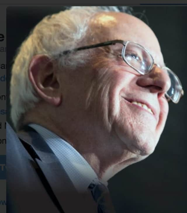"""When we stand together, win win,"" Democratic presidential contender Bernie Sanders said in a Tweet posted just after 8 p.m. Tuesday. ""Thank you, New Hampshire."""