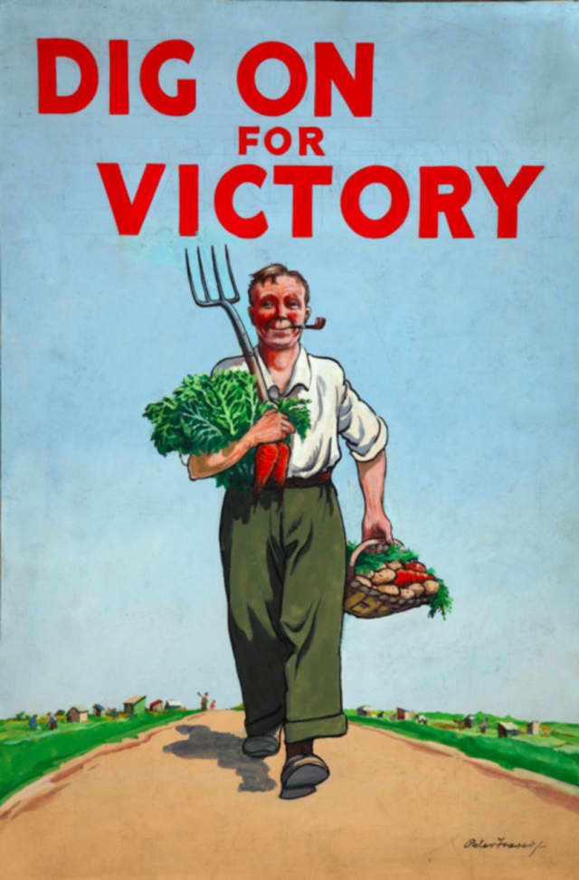 The Edith Wheeler Memorial Library will host a presentation about victory gardens on March 8.