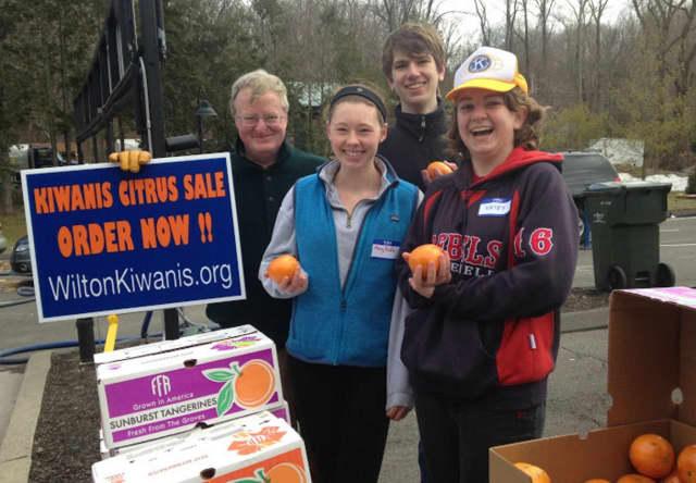 The Kiwanis Club of Wilton's annual Citrus Sale is underway.