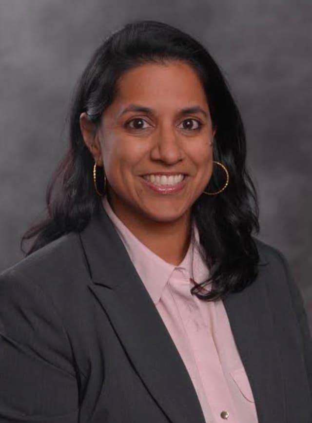 Dr. Preya Ananthakrishnan.