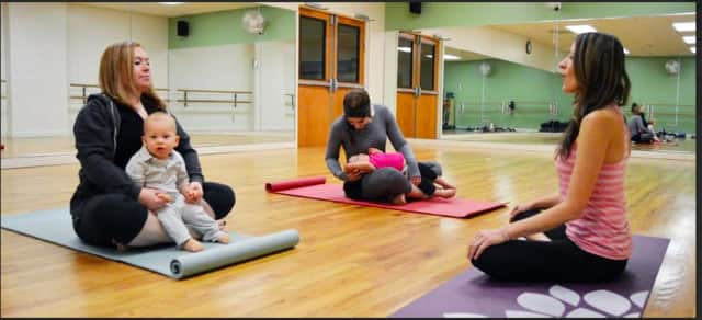 A new baby yoga class is now being offered at the JCC Rockland in West Nyack.