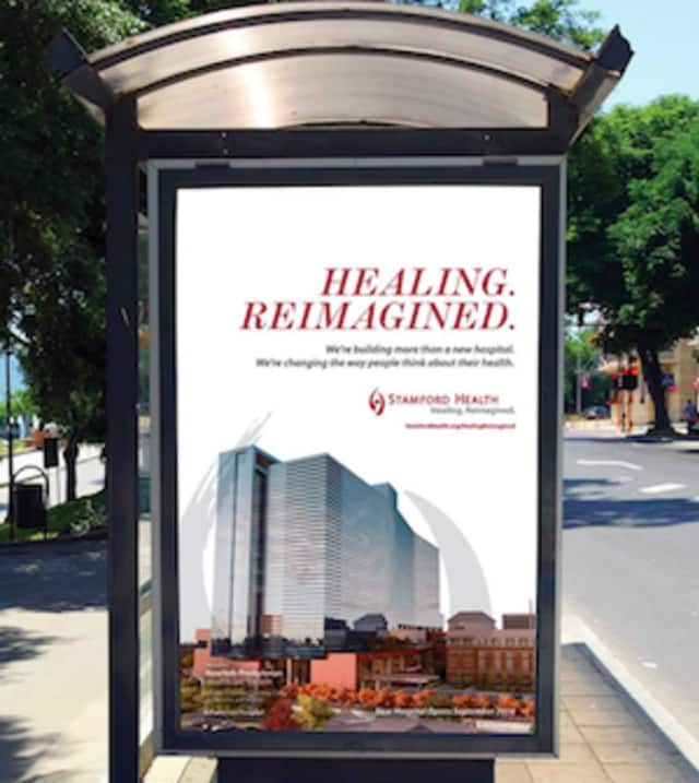 Stamford Health rolls out its new brand and advertising for Stamford Health -- Healing, Reimagined.