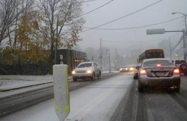 Freezing rain and snow could impact the evening commute in Fairfield County