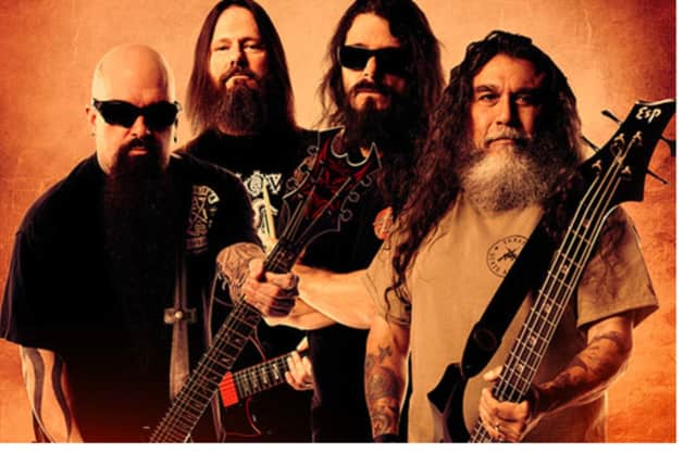 "The band ""Slayer"" will perform at the Capitol Theatre in Port Chester."