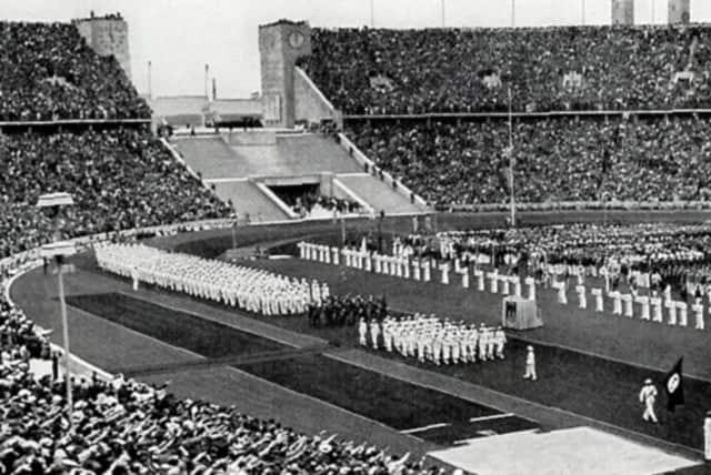 the 1936 Berlin Olympics