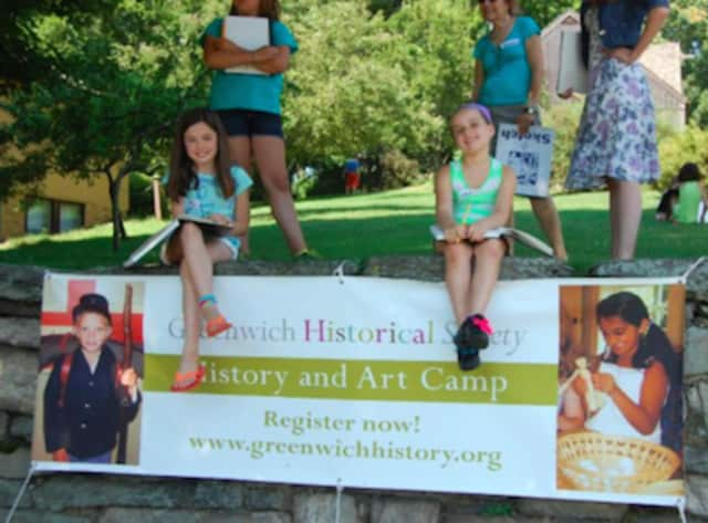 The Greenwich Historical Society wil host a history and art summer camp