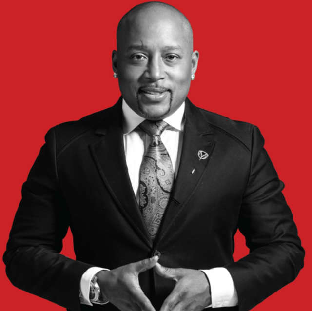 Daymond John will be in Northvale on Saturday.