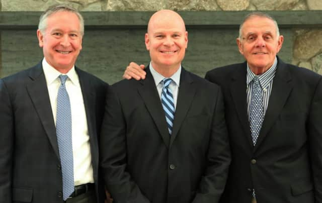 From left: Mark Davis, Mark Feinberg and Dick Whitcomb