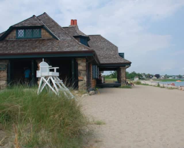 Innis Arden Cottage at Greenwich Point Park.
